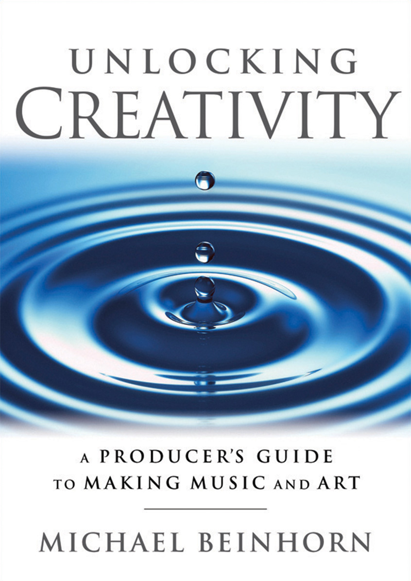 "Book Cover for ""Unlocking Creativity: A Producer's Guide to Making Music & Art"""